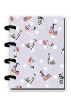 MAMBI Micro Happy Notes - Memo Book -  Rong Rong Summer Stilettos