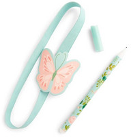Recollections Creative Year Pen Holder with Pen: Butterfly