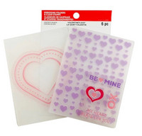 Recollections Valentine Clear Stamp & Embossing Folders 2020 : Be Mine  -setti
