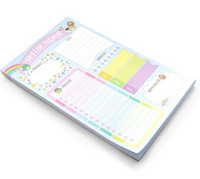 Sweet Kawaii Design List Pad -lehtiö