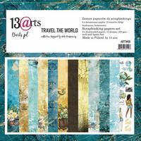 13arts: Travel The World 12x12 paperikokoelma