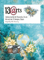 13arts: Travel The World A6 - paperikokoelma