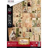 Ciao Bella Creative Pad A4: La Traviata