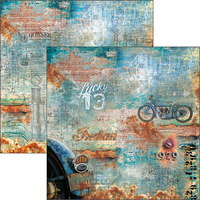 Ciao Bella Scrapbooking Paper Pad : Collateral Rust