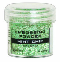 Ranger Embossing Powder: Mint Chip Speckle 34ml