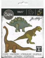 Sizzix Thinlits: Prehistoric -stanssisetti