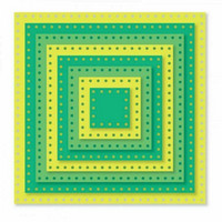 Sizzix Framelits: Dotted Squares  -stanssisetti