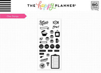 Mambi Happy Planner:  Recipe Clear Stamps
