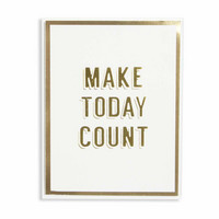 Spellbinders: Make Today Count  -foliointilevy