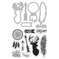 Art C Stamp & Cut: Wild & Free