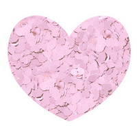 Aladine Izink: Hearts Light Pink - confetti