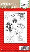 Studio Light:  Christmas Accents #157  - kirkas leimasinsetti
