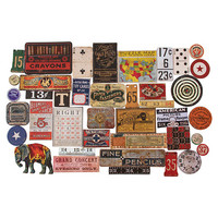 Tim Holtz Idea-ology Baseboards: Junk Drawer