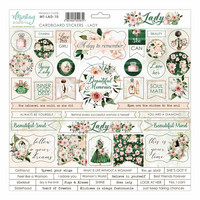 Mintay Papers: Lady 12x12 Extrat
