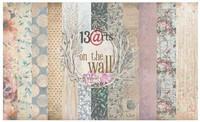 13arts: On The Wall  12x12 paperikokoelma