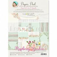 Lemoncraft: Raspberry Garden A4  -paperilehtiö