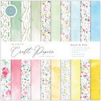 CC Essential Craft Papers 12 x 12 :  Bloom & Wild