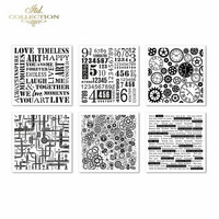 ITD Collection: Embossed Mixed Media Paper Set 40