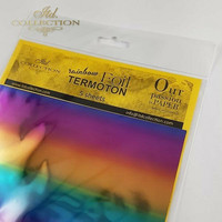 ITD Collection Foil Sheets: Rainbow Termoton