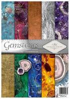 ITD Collection: Gemstones A4- paperikokoelma