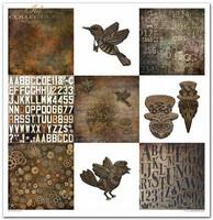ITD Collection: Steampunk 12x12- paperikokoelma