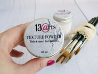 13arts Texture Powder - Thickener for paints 100ml
