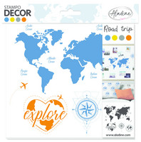 Aladine Foam Stamps: Road Trip  - leimasinsetti