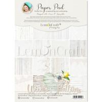 Lemoncraft: Wood Patterns #1 A4  -paperilehtiö