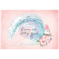 Prima Marketing: Surfboard 4x6 Journaling Cards
