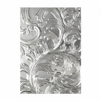 Sizzix 3D Texture Fades: Elegant -kohokuviointikansio