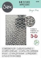 Sizzix 3D Texture Fades: Star Fall -kohokuviointikansio