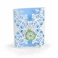 Sizzix Thinlits: Snowflake Card -stanssisetti