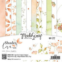 Modascrap: Shades of Love 6x6 paperikokoelma