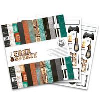 P13: Free Spirit 12x12 - paperikokoelma