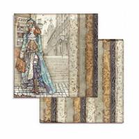 Stamperia: Lady Vagabond 8x8 - paperikokoelma