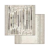 Stamperia: Calligraphy 8x8 - paperikokoelma