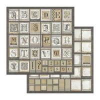 Stamperia: Calligraphy 12 x 12 paperikokoelma