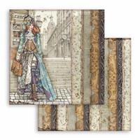 Stamperia: Lady Vagabond 12 x 12 paperikokoelma