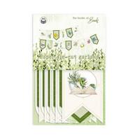 P13: The Garden of books Die Cut Garland -koristepakkaus