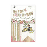 P13: Always and forever Die Cut Garland -koristepakkaus