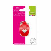 Vaessen Creative : Heart Mini  - kuviolävistäjä avaimenperällä
