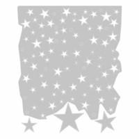 Sizzix Thinlits: Falling Stars  -stanssisetti