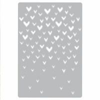 Sizzix Thinlits: Drifting Hearts  -stanssi