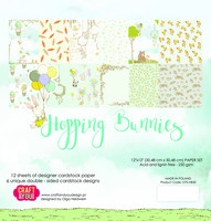 Craft & You Design: Hopping Bunnies 12x12 - paperikokoelma