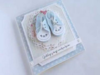 Craft & You: Baby Shoe -stanssisetti