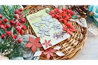 Agiart: Royal Poinsettia (Joulutähti)  -stanssisetti