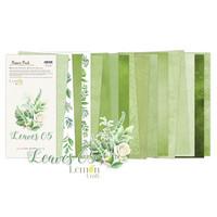 Lemoncraft: Leaves #5  6x12 -paperilehtiö