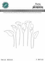 Mes Petit Ciseaux: Arums (kallat) - stanssisetti
