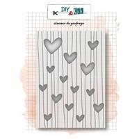 DIY & Cie: Coeurs- kohokuviointikansio