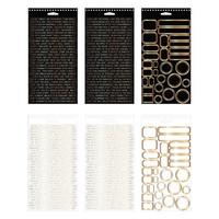 Tim Holtz Idea-ology Metallic Sticker Book  -tarralehtiö